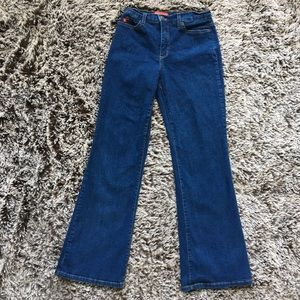 Not your daughter tummy tuck jeans medium wash 8 P